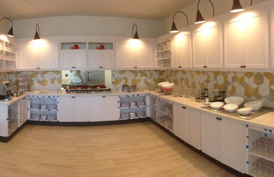 cocina de Hyatt Place San Juan